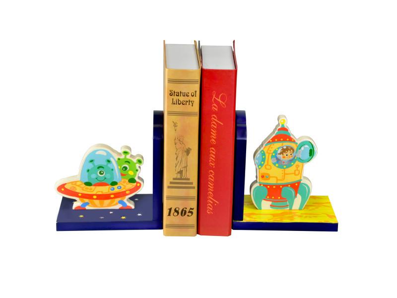 Serre Livres Pour Deco Etagere Ou Bibliotheque Chambre