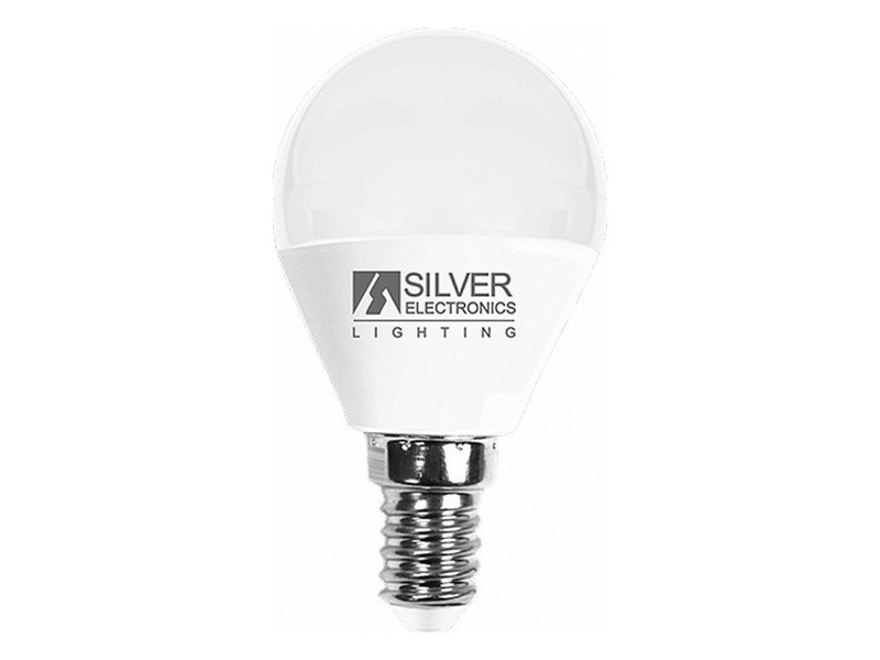 Ampoules joli choisissez votre option 5000k ampoule led sphérique silver electronics e14 7w lumière chaude