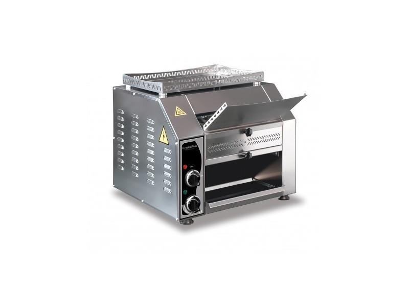 Toaster convoyeur grille-pain- 2,5 kw - combisteel - 320 t/h