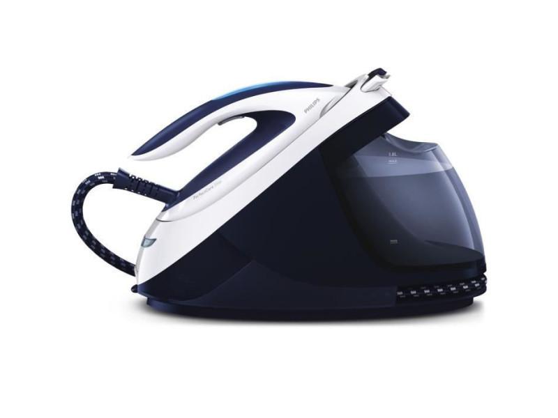 Philips gc9610/20 perfect care elite centrale vapeur - bleu/blanc
