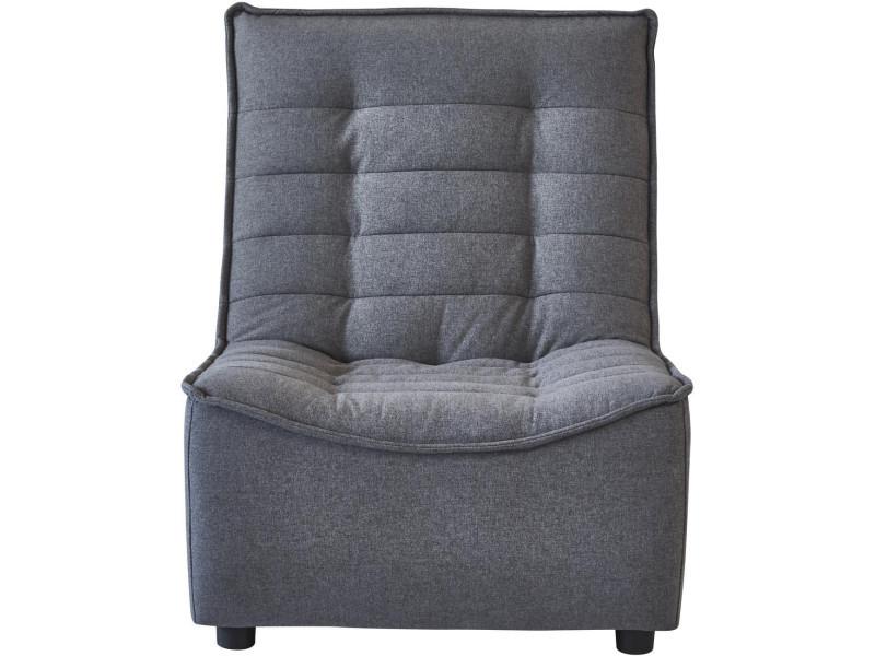 Subleem assise de canapé humphrey gris anthracite
