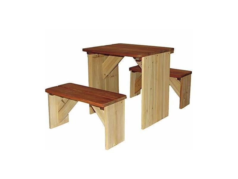 Axi table et bancs pour pique-nique zidzed A030.039.00