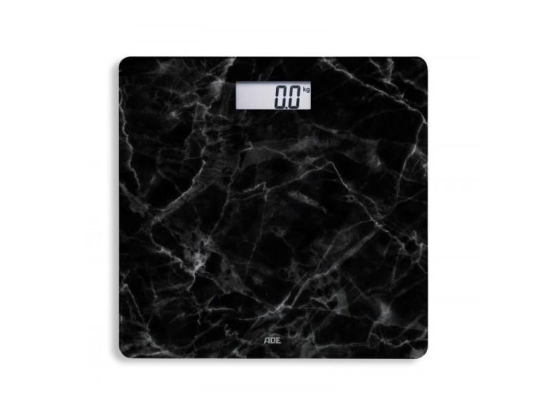 Pèse personne ade selene marbre noir verre 180 kg be1712