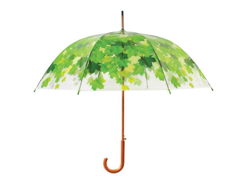 Parapluie cime de l'arbre métal et bois