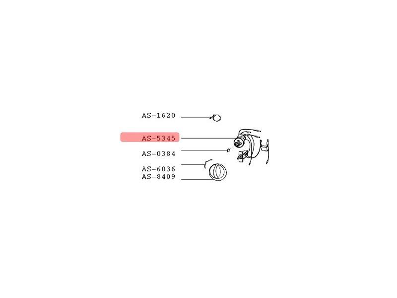 Interrupteur commande cotateur reference : as-5345