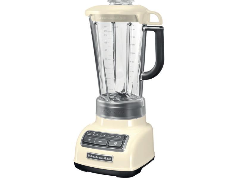 Blender mixeur électrique de 1,75l 550w crème gris