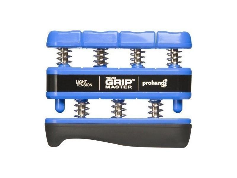 Gripmaster - Appareil d'entraînement de la main et des doigts - Résistance légère, 2 kg - Bleu 14001