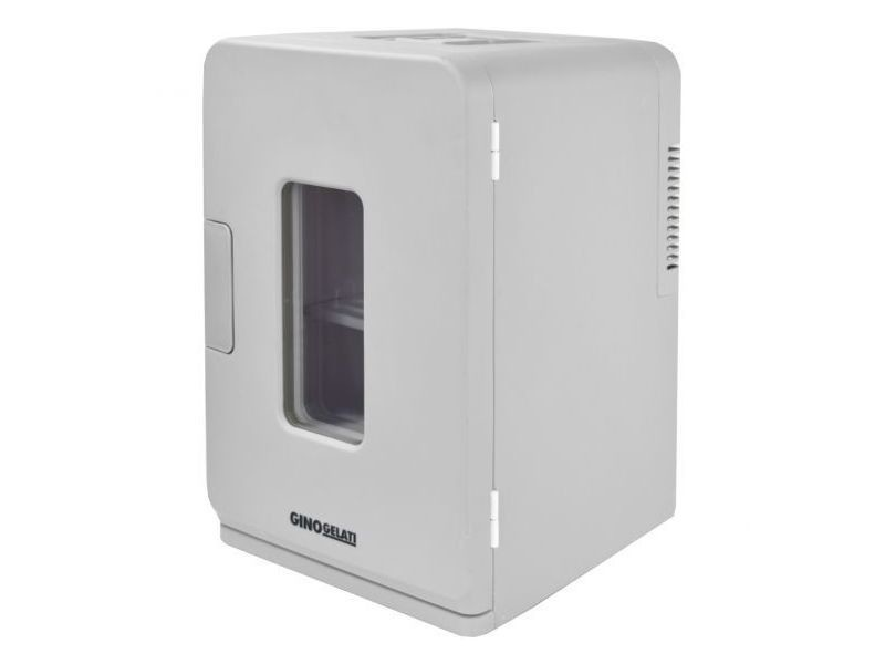 Réfrigérateur numérique de 15 litres et boîte chauffante 12v + 220v blanc