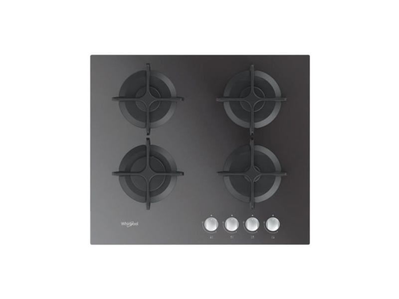 Whirlpool - table gaz verre miroir - 60 cm WHI8003437605352