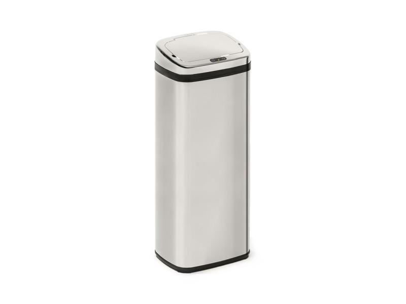 Klarstein cleansmann 50 poubelle 50 litres avec capteur - couvercle abs chromé KG15-Cleansmann50l