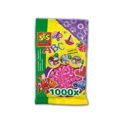Sachet de 1000 perles technique à repasser : rose
