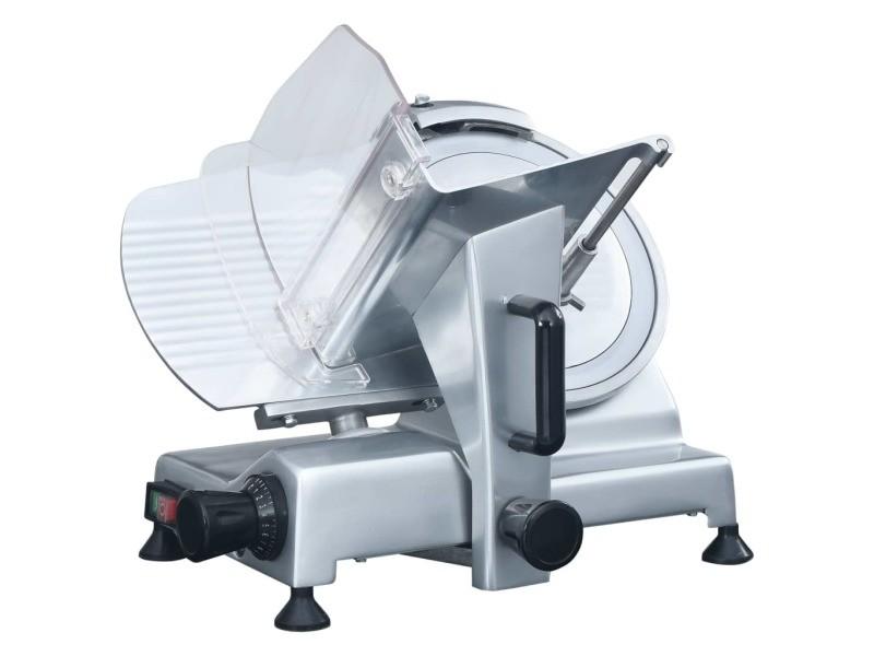 Distingué électroménager de cuisine famille athènes trancheur à viande électrique professionnel 250 mm
