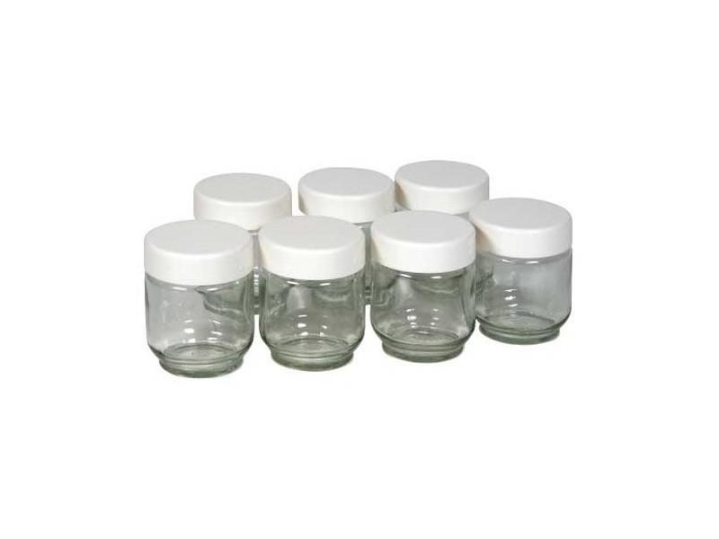 Lot de 7 pots pour yaourtiere v2 reference : 430101