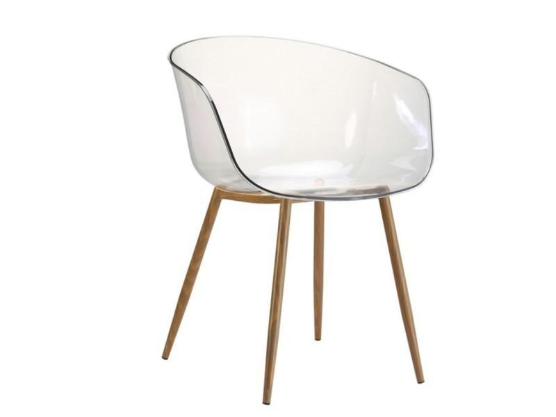 433525 Lot1 Design Plexi Chaise Fauteuil Conforama De Vente dthCsrQ