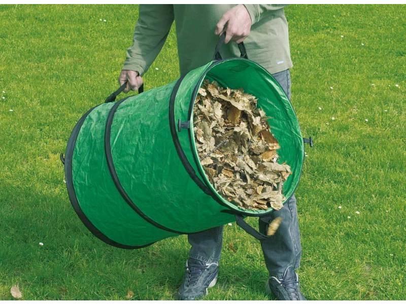 Sac de déchets verts repliable 116 l