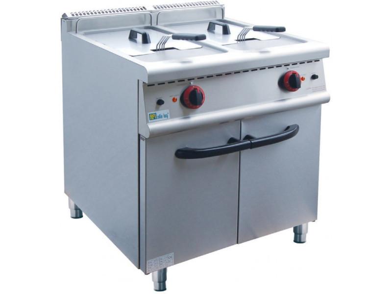 Friteuse electrique sur coffre série top 700 - 2 x 20 l - afi collin lucy -