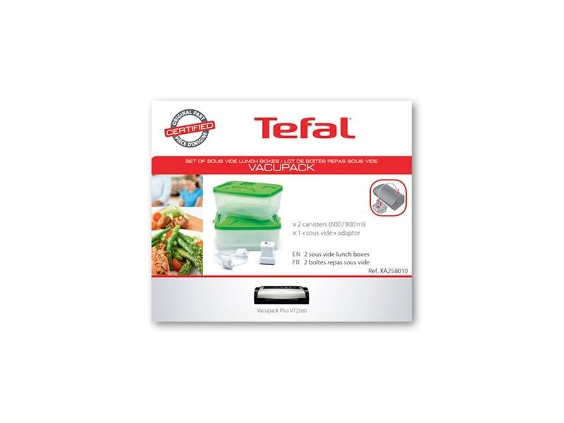 Accessoire lunch box vacupack pour petit electromenager tefal - xa258010