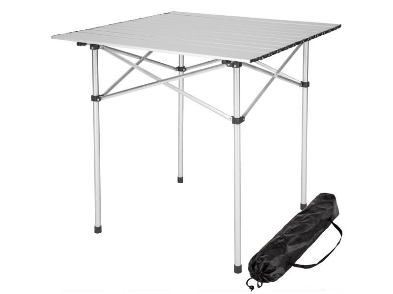 Tectake table pliante 70 x 70 x 70 cm 401169