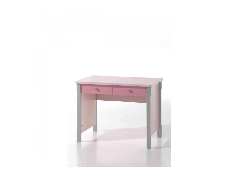 Bureau en bois rose bu conforama
