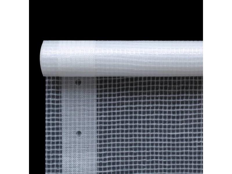 Icaverne - bâches ligne bâche leno 260 g/m² 1,5 x 15 m blanc