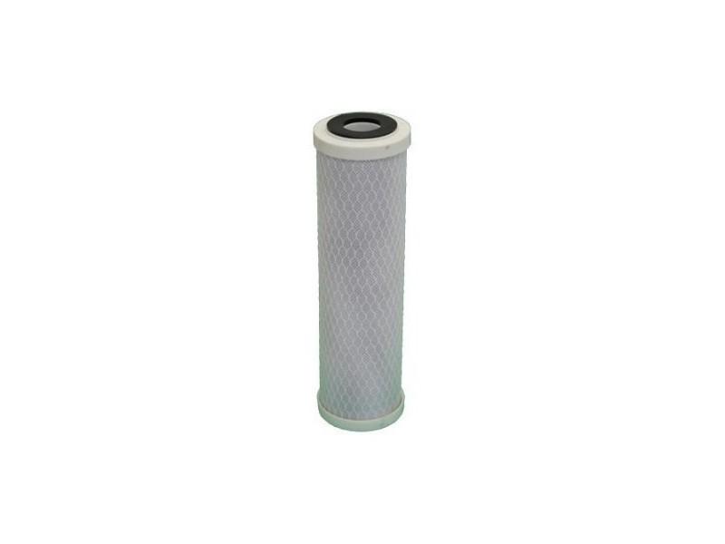 Cartouche charbon actif + sédiment 5 microns pour porte filtre 10 pouces
