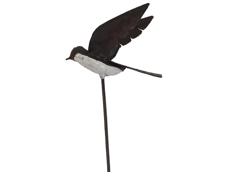 Tuteur hirondelle ailes ouvertes