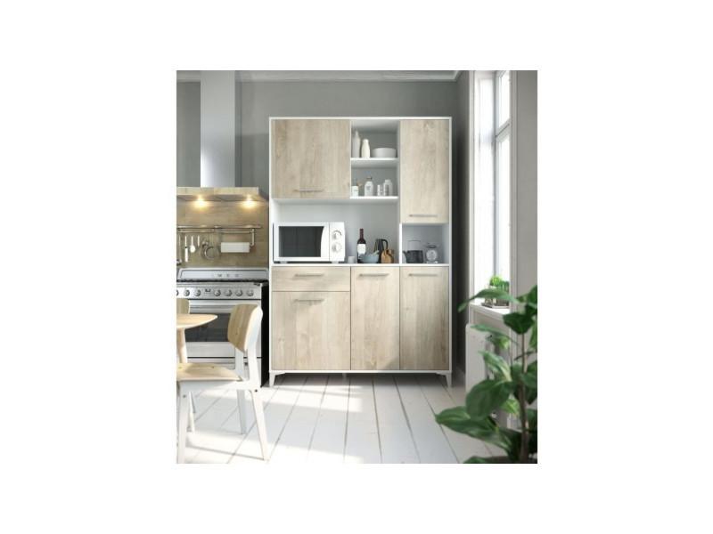 Eco buffet de cuisine l 120 cm - décor chene T75311PL11LVO