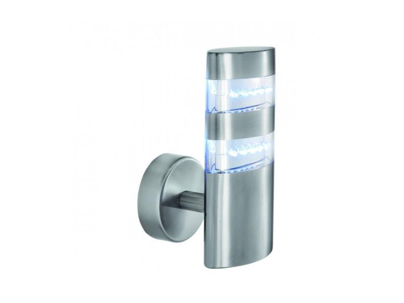 Applique led outdoor 27 cm, en acier inoxydable et polycarbonate