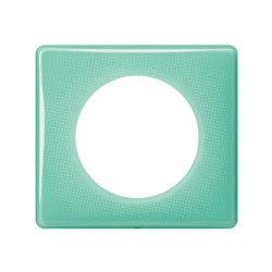 Legrand - celiane plaque 1 poste 50's turquoise