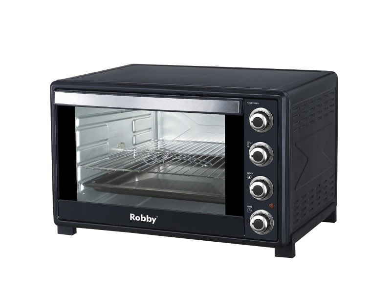 Four multifonction chaleur tournante 60l 2200w noir - oven 60l oven 60l