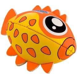 Ballon poisson néoprène orange 20x10x13cm
