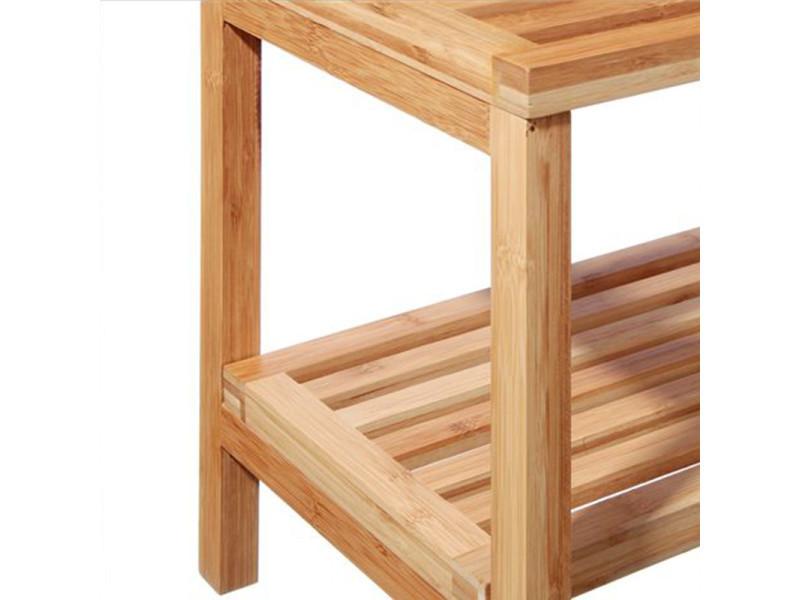 Etagère banc en bambou 2 niveaux - Vente de INSTANT D\'O - Conforama