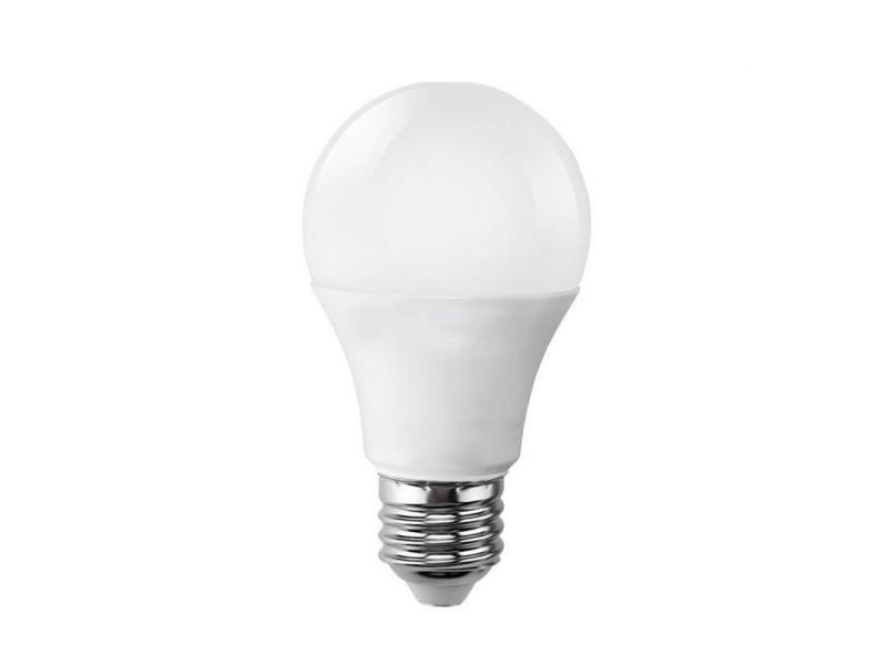Ampoule e27 led 9w 220v a60 180° - blanc chaud 2300k - 3500k