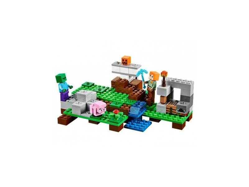 Jeu de Construction Lego Minecraft Le Golem de fer 21123