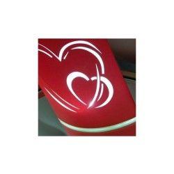 Lampions en papier led corazón (pack de 2)
