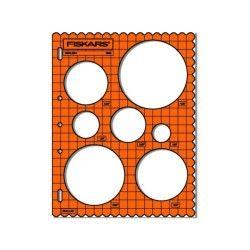 Fiskars - gabarit de découpe cercles