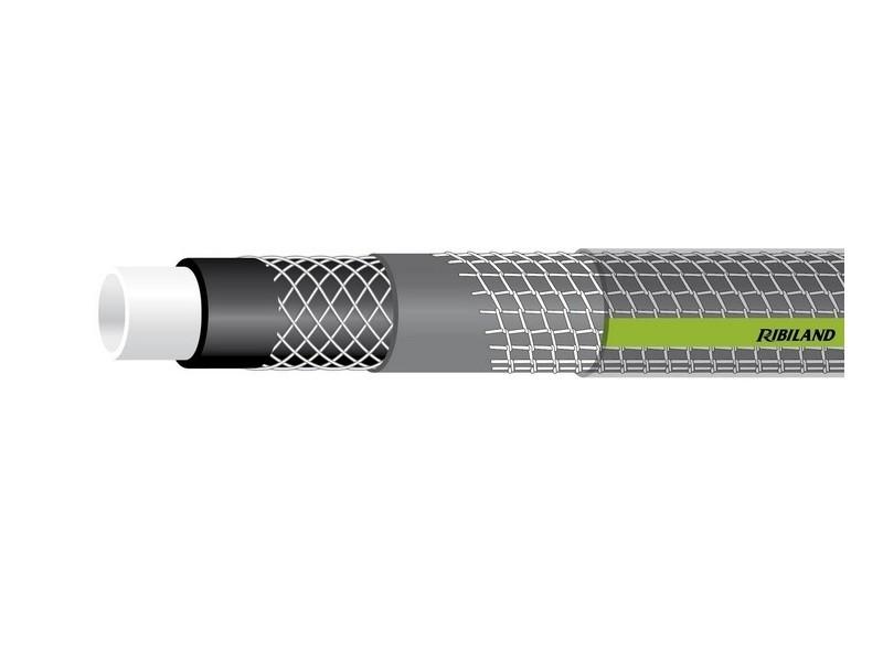 Ribiland - tuyau d'arrosage guipé et tricoté antivrille tubi'xtra 6 couches ø 15mm 25 m - prtax25v15 PRTOP25G15