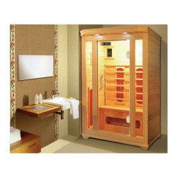 Cabine de sauna infrarouge milla - 2 places - 120x