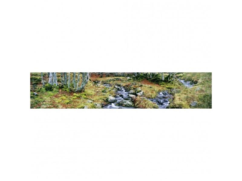 Brise vue 100% occultant impramau 500 x 100 cm - canisse brise vent pour clôture de jardin
