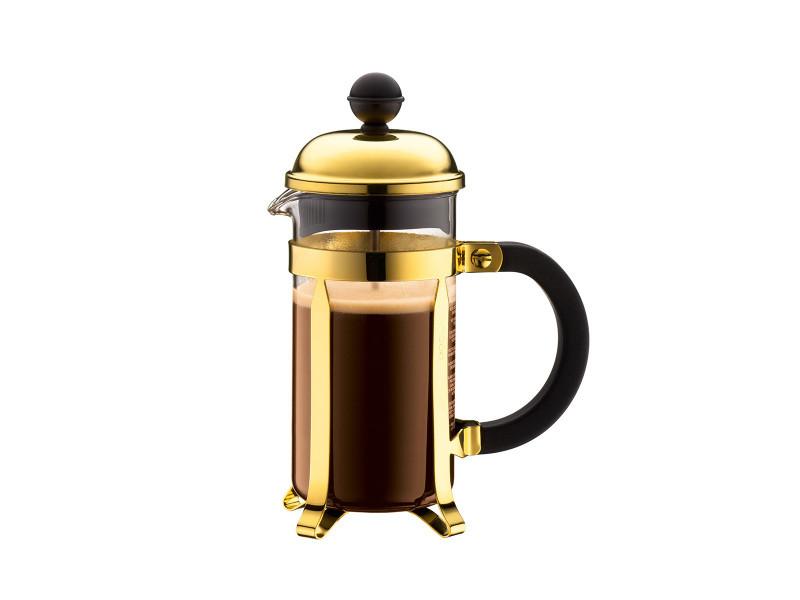 Bodum chambord® cafetière à piston, 3 tasses, 0.35 l, acier inox 1923-17