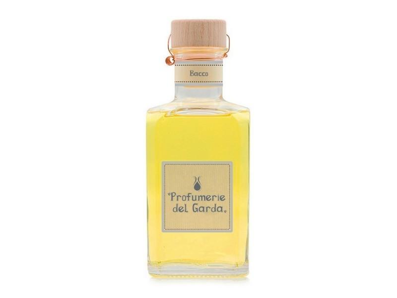 Homemania diffuseur bacco - assainisseur d'air avec bâtons - parfum boisé - 500 ml jaune en verre, bois, parfum, 7,5 x 7,5 x 19 cm