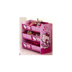 Rangement 6 paniers Baby Fox Hello Kitty