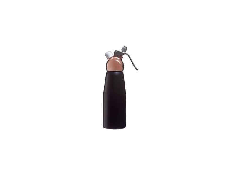 Siphon à crème en aluminium - 500 cl - noir