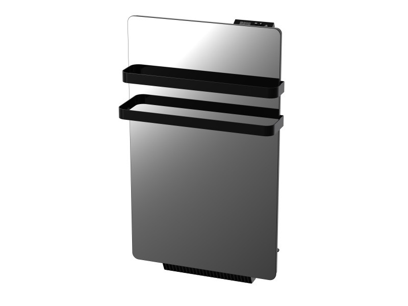 radiateur s che serviette miroir 500w verre lcd soufflerie 900w 1400w vente de chauffage. Black Bedroom Furniture Sets. Home Design Ideas