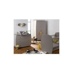 Chambre bébé médéa couchage 60x120