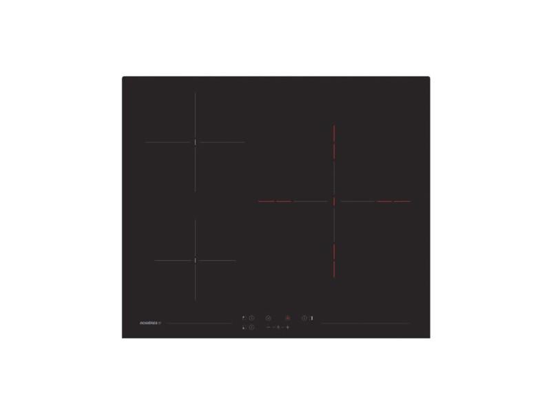 Table de cuisson vitrocéramique 60cm 3 foyer 5600w noir - rh63tct/1 rh63tct/1