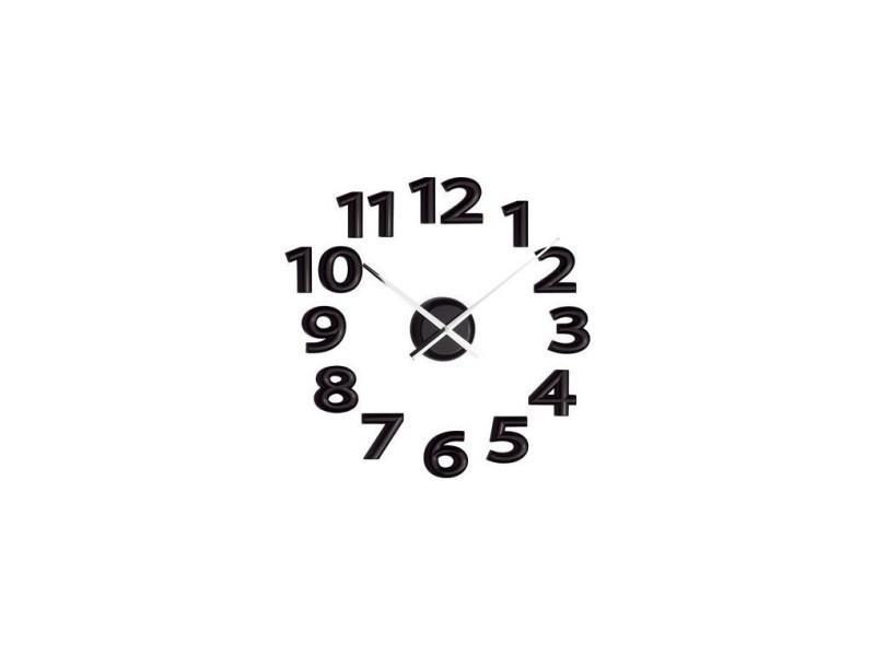 Horloge A Coller Chiffres Noirs Vente De Balvi Conforama