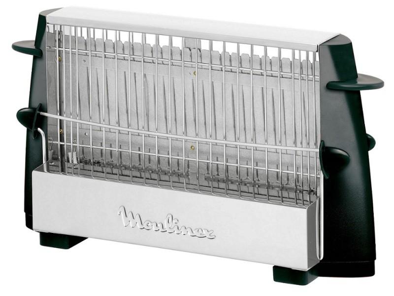 Grille pain moulinex façon toaster 2 faces - 760w noir a154-53 ...
