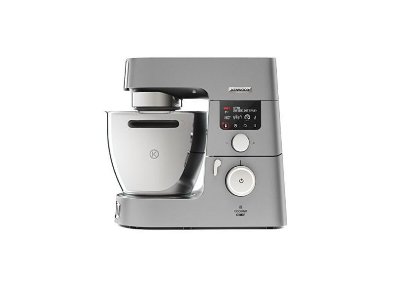 Kenwood kcc9040s cooking chef gourmet robot de cuisine, 1500 w, induction 20-180 °c, capacité de 6,7 l