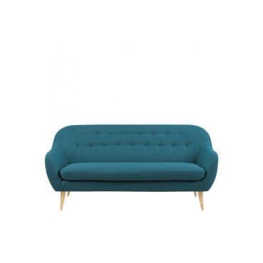 canap 3 places design scandinave cirrus couleur bleu p trole 65443 corsica petrol 45. Black Bedroom Furniture Sets. Home Design Ideas